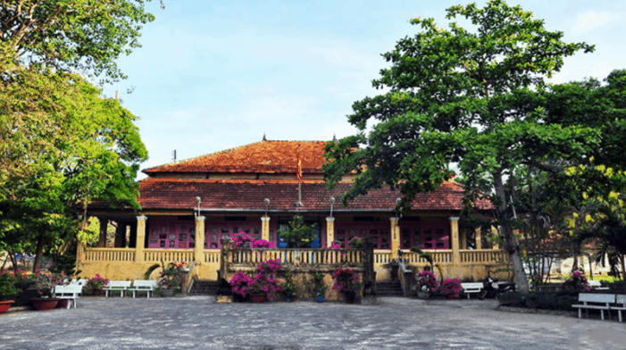 The island's royal palace - a famous landmark in Con Dao