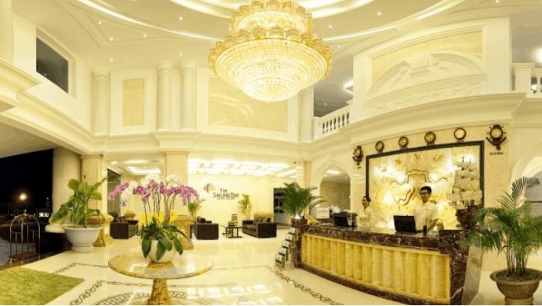 Sảnh lớn tiếp khách của resort