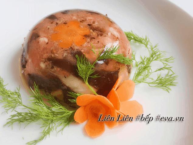 Thịt gà nấu đông - món ăn truyền thống miền Bắc