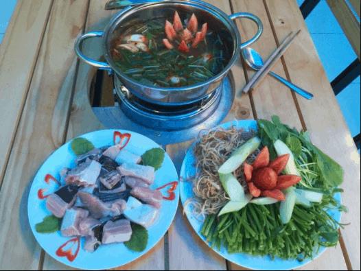 Món lẩu cá đuối nổi tiếng Vũng Tàu