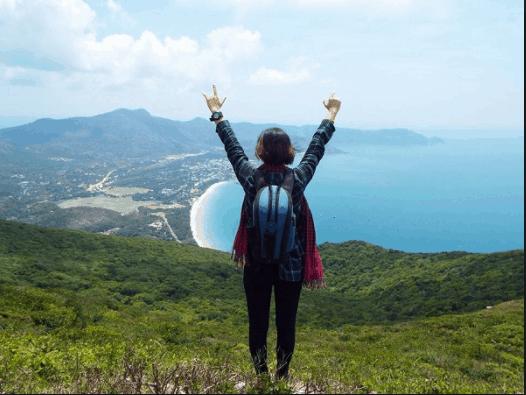 Chinh phục đỉnh núi Thánh Giá