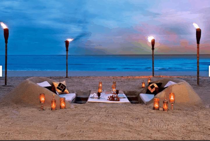 Phong cách lãng mạn của resort