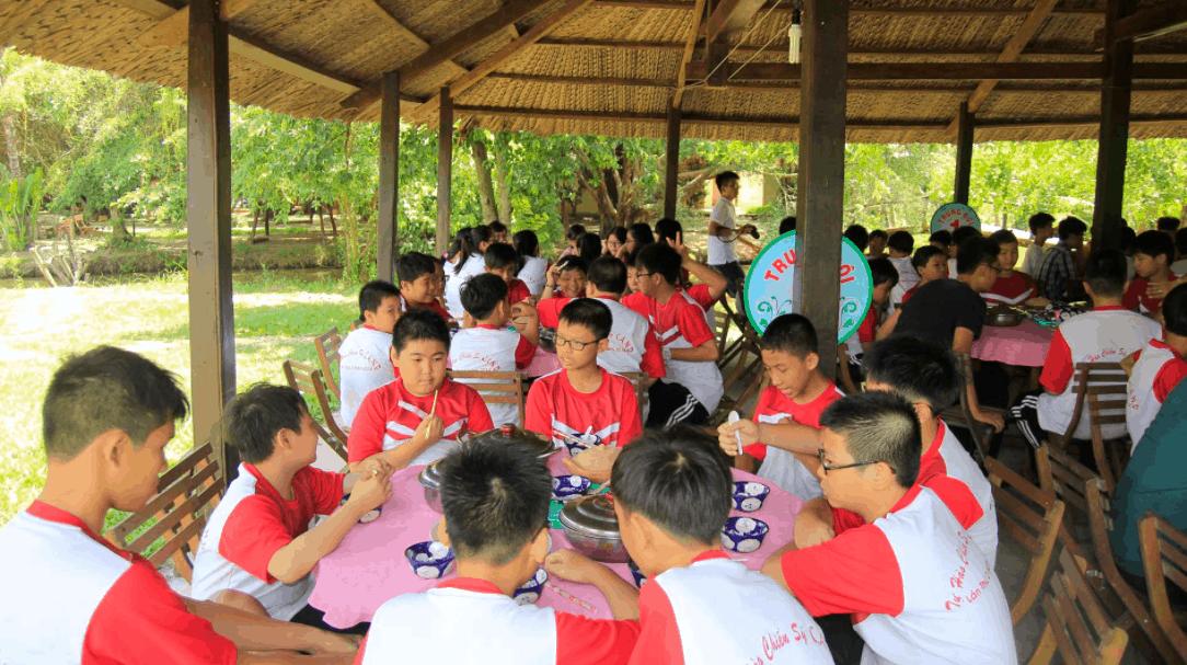 Khu du lịch là địa điểm tham quan của các trường học