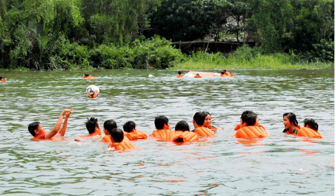 Các hoạt động dưới nước rất thú vị