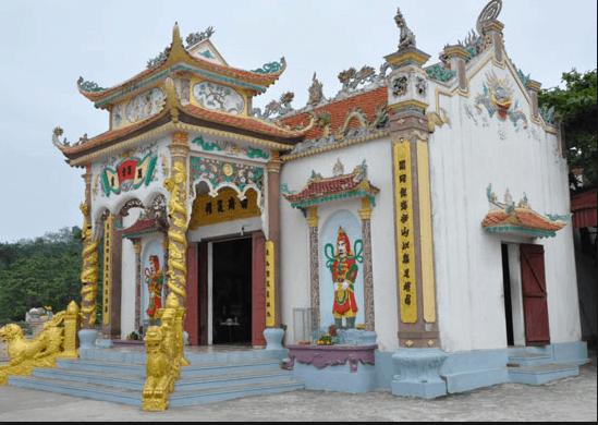 Đền thờ thần Nam Hải tín ngưỡng của các ngư dân