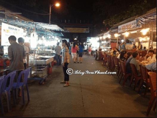 Những quán ăn đêm ở Vũng Tàu luôn đông đúc