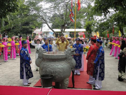 Lễ giỗ bà Phi Yến