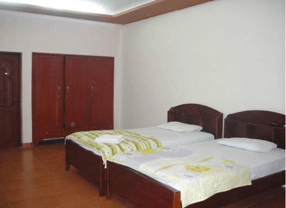 Phòng ngủ của bangalow