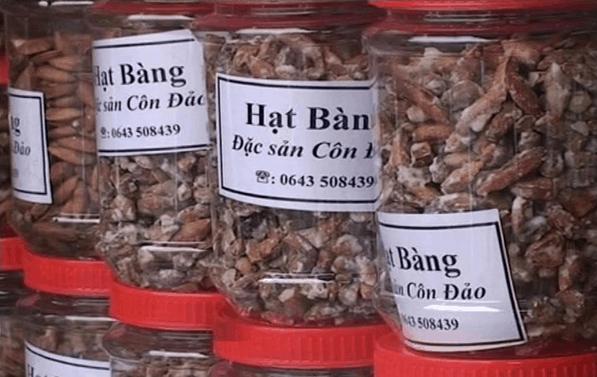Mứt hạt bàng - đặc sản Côn Đảo