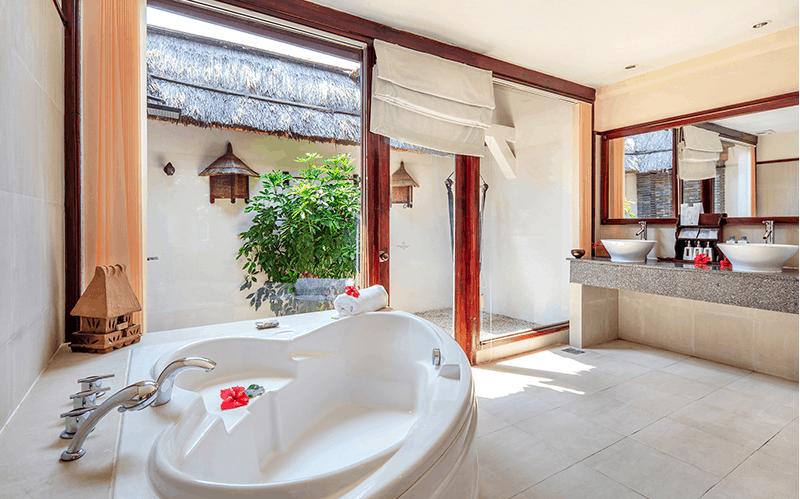 Thiết kế phòng tắm đem lại cảm giác thư giãn nhất cho du khách