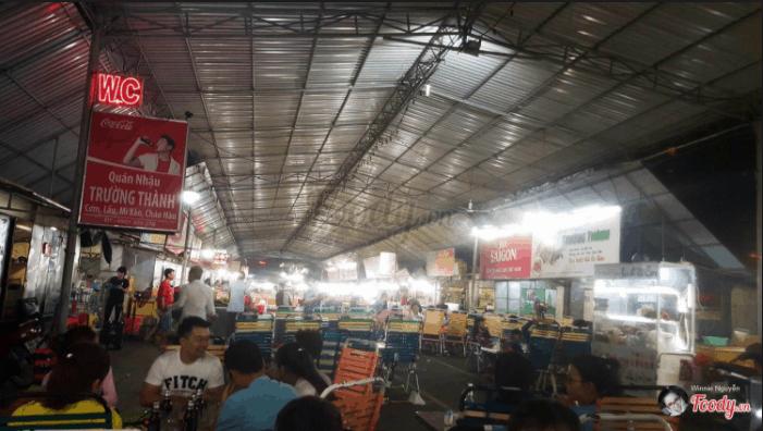 Chợ đêm Vũng Tàu ngày nào cũng đông nghịt khách đến ăn đêm
