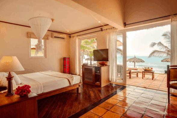Phòng ngủ view biển thơ mộng đem lại cảm giác tuyệt vời cho du khách