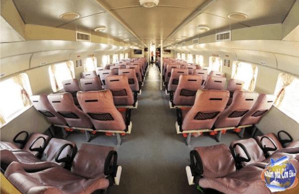 Khoang ghế ngồi của tàu cao tốc Tàu cao tốc Superdong Sóc Trăng - Côn Đảo