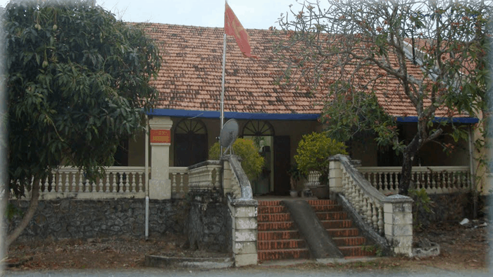 The residence of the island lords during the war
