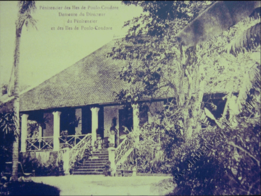A photo of the ancient island royal residence