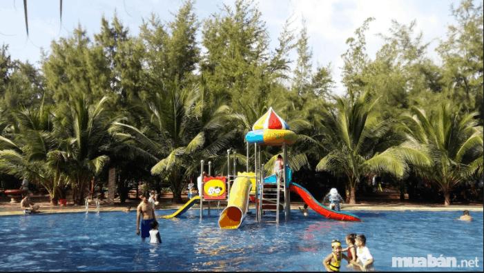Bể bơi thư giãn dành cho trẻ em