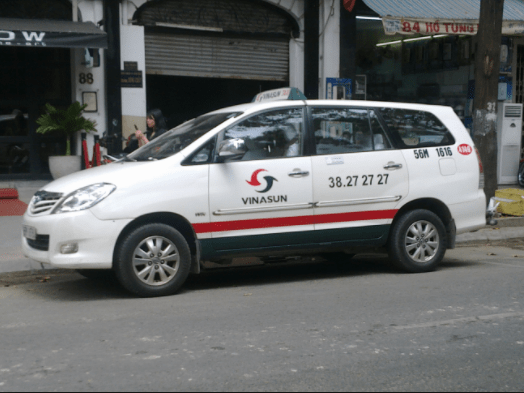 Có thể di chuyển bằng taxi ở Đồng Nai