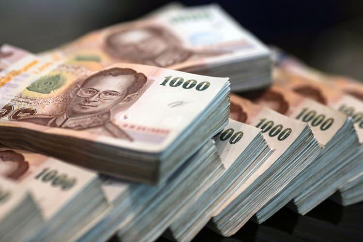 Tiền Baht Thai (ẢNH ST)