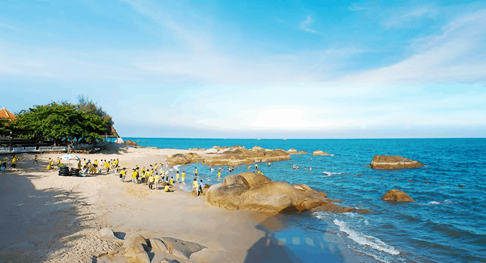 Hình ảnh bãi tắm An Hải