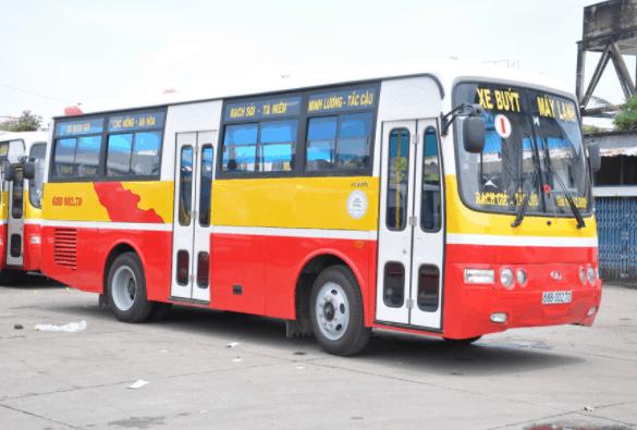 Du khách có thể tới vườn trái cây Lái Thiêu bằng xe buýt