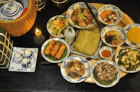 Các món ăn ngày tết miền Bắc