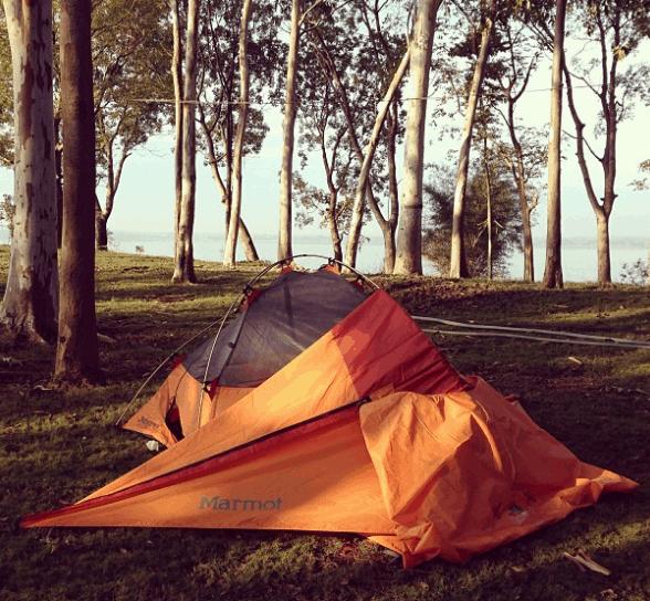 Cắm trại nghỉ qua đêm tại đảo Ó Đồng Nai