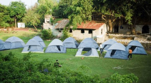 Tổ chức cắm trại tại khu du lịch sinh thái Cao Minh