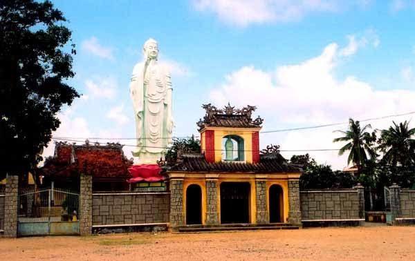 Cổng sau của ngôi chùa (Ảnh ST)