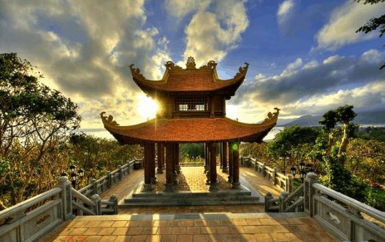 Hình ảnh chùa núi Một - Vân Sơn