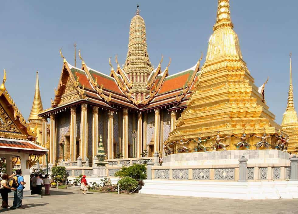 Ngôi chùa linh thiêng trong khuôn viên của cung điện hoàng gia