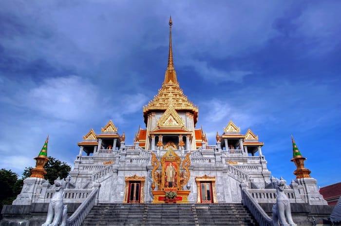 Ngôi chùa với nét kiến trúc lung linh cực đẹp ở Bangkok