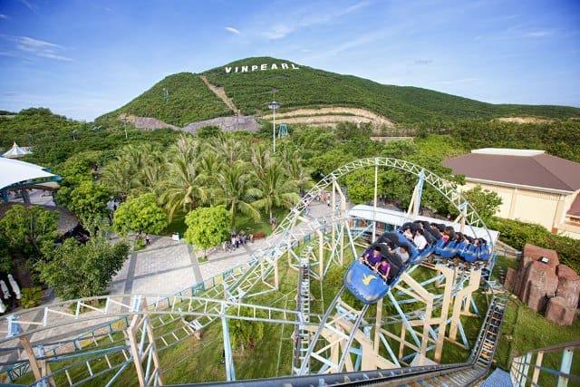Toàn cảnh công viên giải trí hiện đại nhất Việt Nam - Vinpearl Land Nha Trang (Ảnh: Sưu tầm)