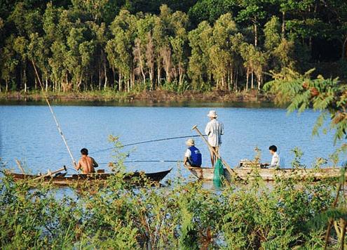Cuộc sống đơn sơ người dân tại đảo Ó Đồng Nai