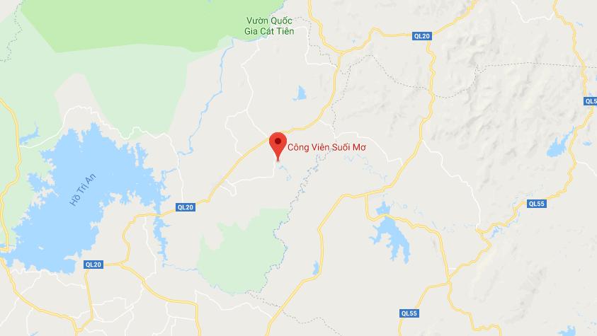 Địa chỉ công viên Suối Mơ - Đồng Nai