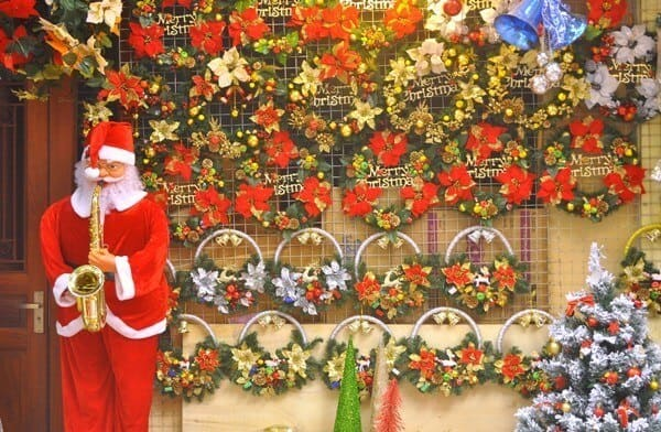 địa điểm mua quà giáng sinh ở Hà Nội