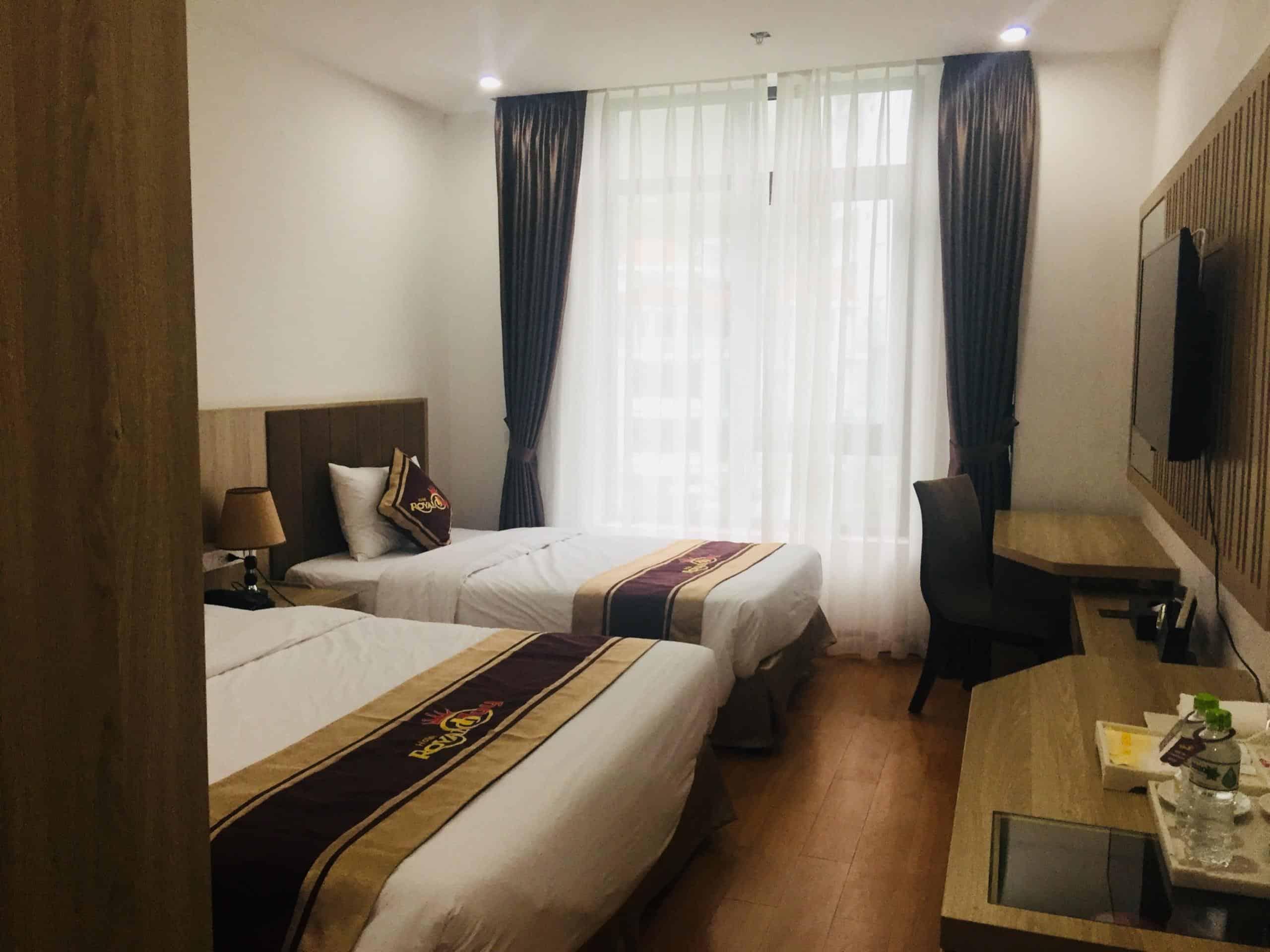 Không gian trang nhã sang trọng của khách sạn