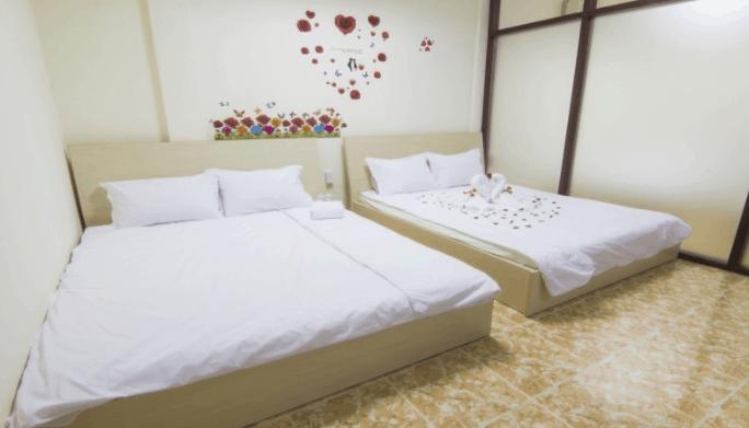 Không gian phòng nghỉ đẹp mắt tại Dream Box Hostel