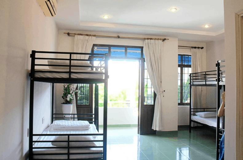 Tại Tiamo Hostel có nhiều phòng tập thể cho bạn lựa chọn