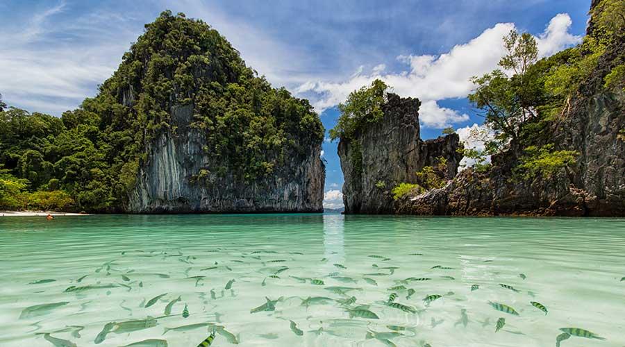 Khung cảnh thiên nhiên cực đẹp ở Krabi (ẢNH ST)