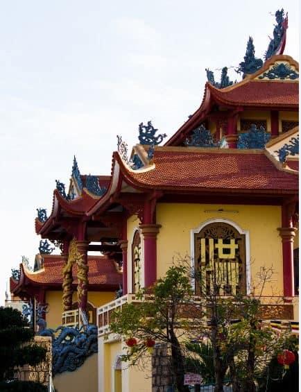 Ngôi chùa có niên đại hơn 300 năm (Ảnh ST)