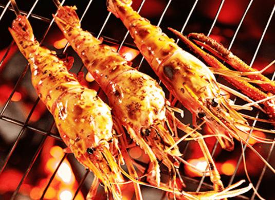 Món tôm nướng siêu ngon tại chợ đêm hải sản Vũng Tàu
