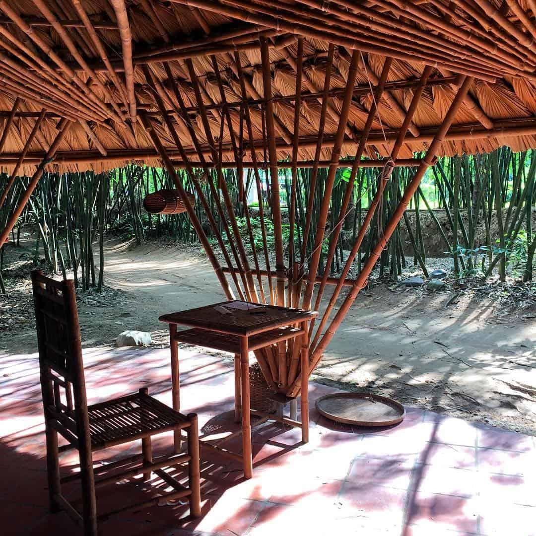 Một góc bình lặng ở làng tre Phú An - Bình Dương