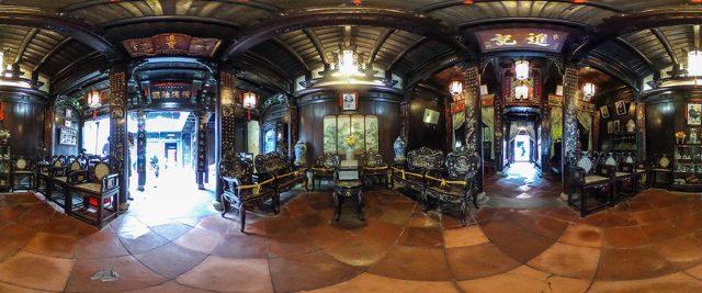 Ngôi nhà của gia đình Tấn Ký họ Lê sinh sống 7 đời, được xây dựng từ hơn 200 năm trước đây (Ảnh sưu tầm)