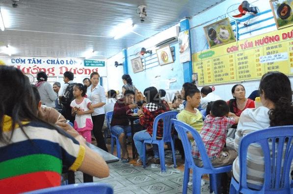 Quán cơm tấm Hướng Dương
