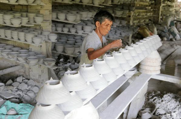 Sự tận tâm của người làm gốm