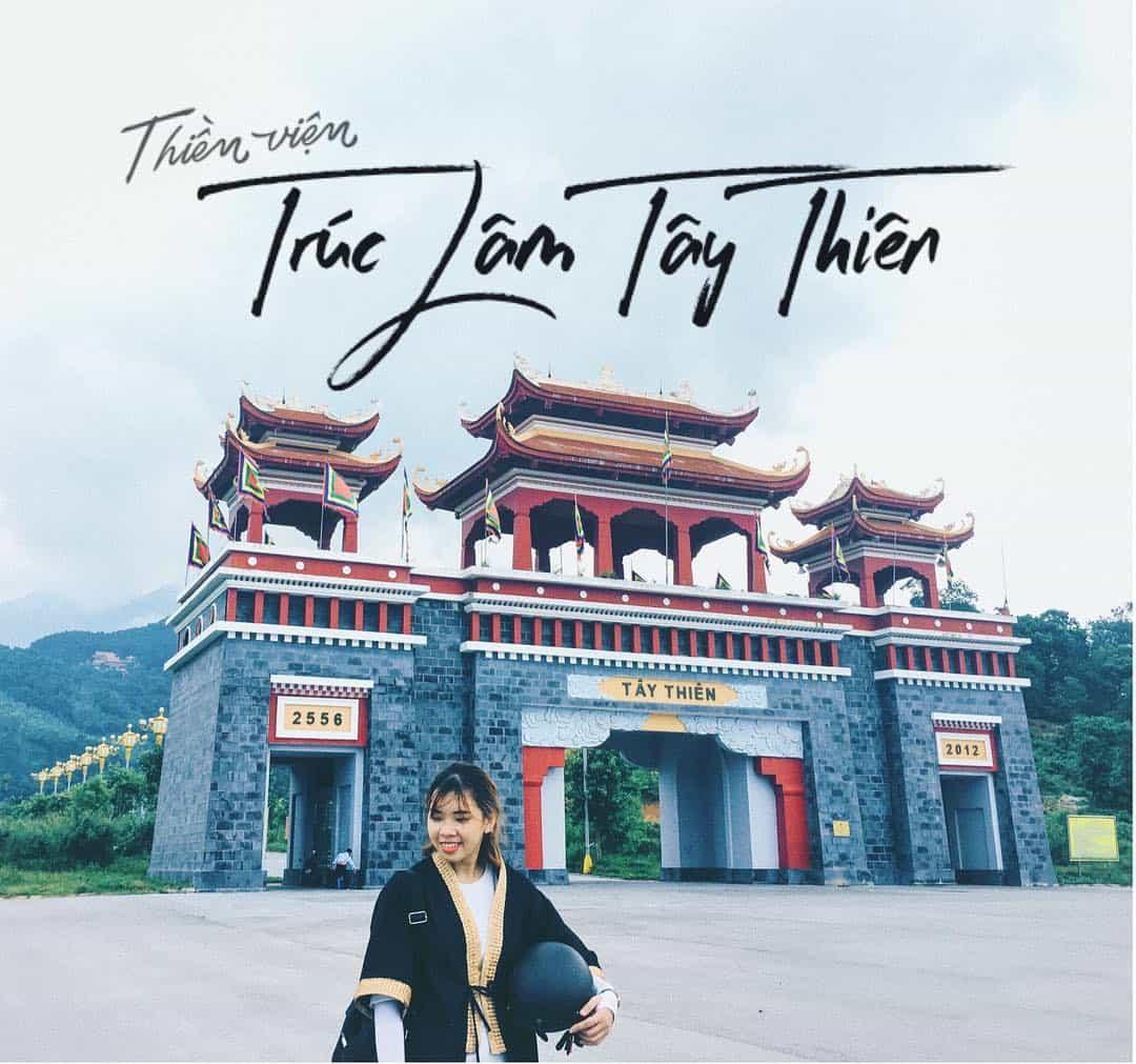 Thiền Viện Trúc Lâm Tây Thiên. Ảnh: @thuyvivu