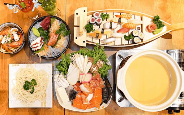 Thưởng thức món ăn thừ các nước trên thế giới tại Sense Market