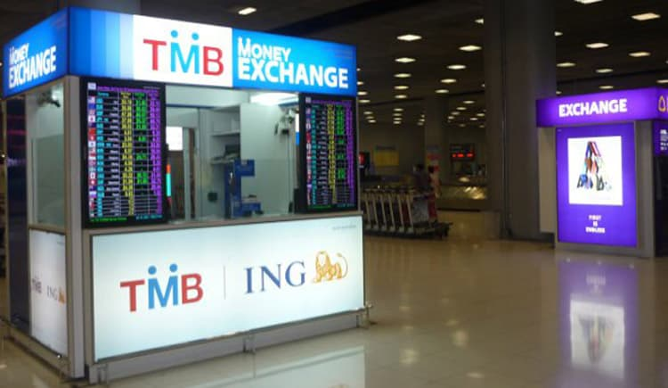 Các quầy đổi tiền ở sân bay thường có tỷ giá không tốt lắm (ẢNH ST)