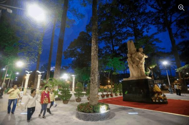 công viên văn lang