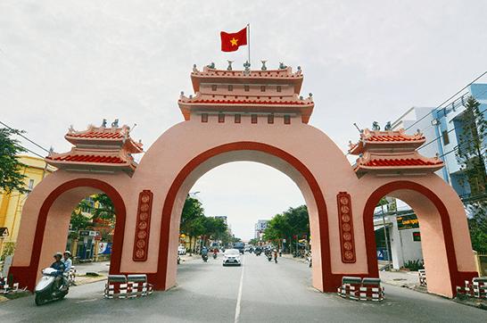 lịch sử cổng tam quan rạch giá